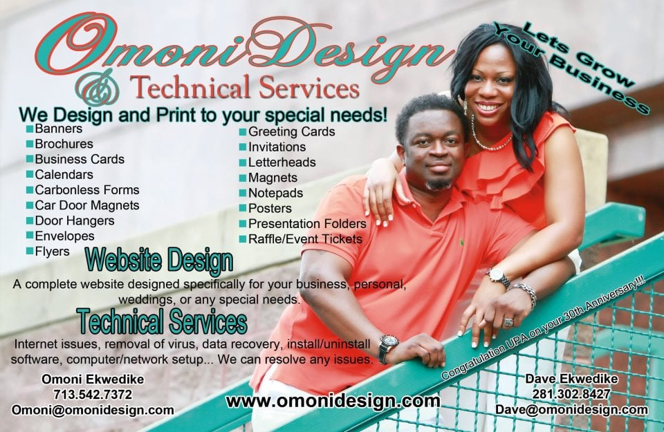 Omoni Design & Technical Services: 3234 Fondren Rd, Houston, TX