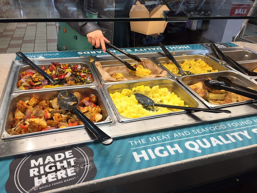 Whole Foods Hot Food Bar Breakfast