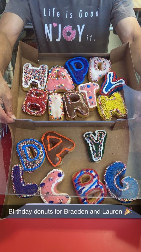 Njoy Donuts: 848 E Renfro St, Burleson, TX