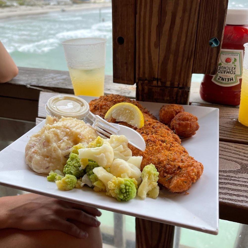 Crabby Joe's Deck & Grill: 3701 S Atlantic Ave, Daytona Beach, FL