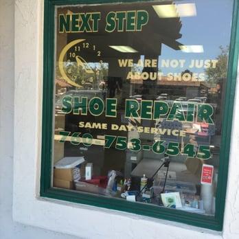 Next Step Shoe Repair Encinitas Ca