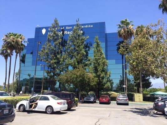San Bernardino County Hall of Records 222 W Hospitality Ln San ...