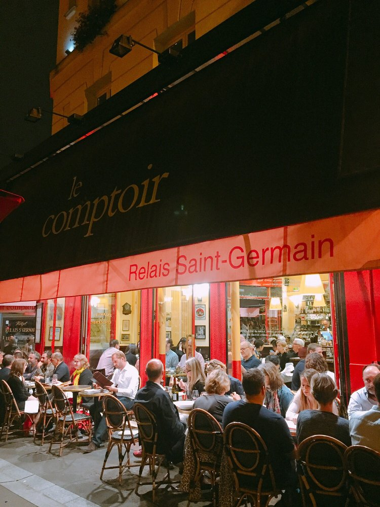 Very long waits outside the restaurant yelp - Le comptoir du relais restaurant reservations ...