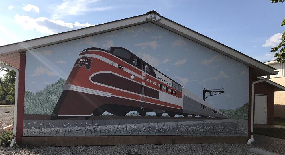 Eldon Depot Museum: Eldon, IA