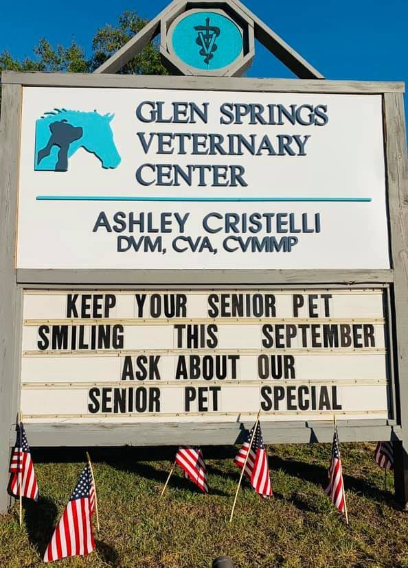 Glen Springs Veterinary Center: 18654 NW US Hwy 441, High Springs, FL