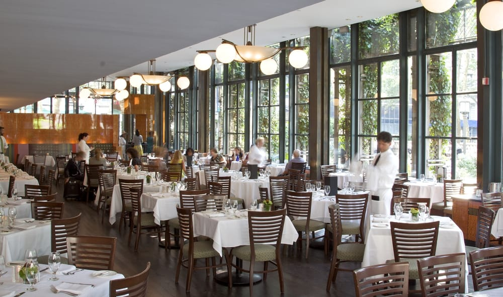 Bryant Park Cafe Restaurant Nyc