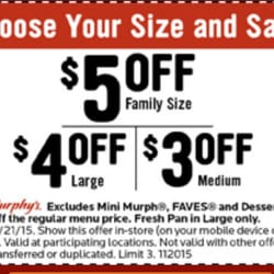 picture relating to Printable Papa Murphys Coupons identify Papa Murphy Coupon codes Pics - MuzicaDL