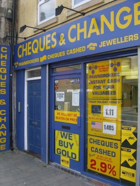 Cheques and Change