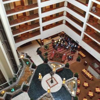 Photo Of Renaissance Charlotte Suites Hotel Nc United States Main Atrium
