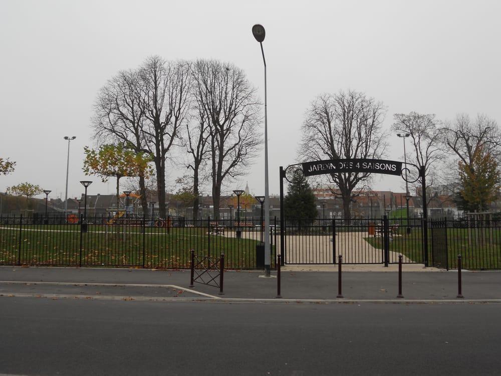 Le jardin des 4 saisons parcs rue koenig la madeleine for Jardin 122 rue des poissonniers