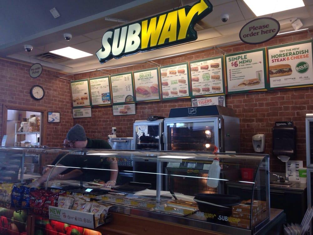 Subway Sandwiches 7491 Grand River Ave Brighton Mi