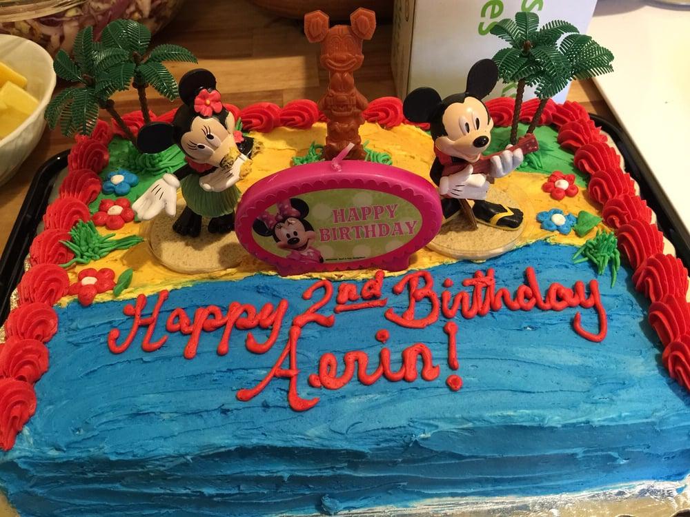 The birthday cake Yelp
