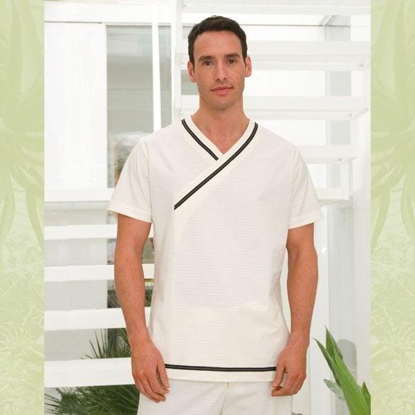 Fashionizer spa uniforms offers matching organic uniforms for Spa uniform policy