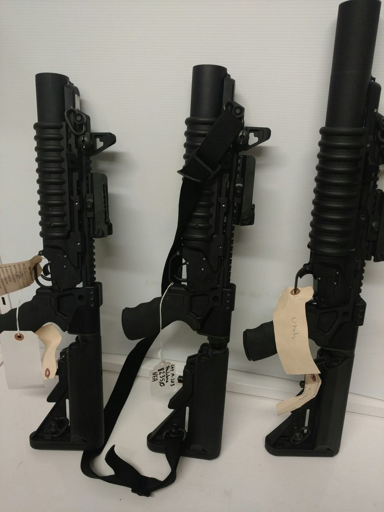 Texas Machine-Gun & Ordnanace: 22820 I-45N, Bacliff, TX