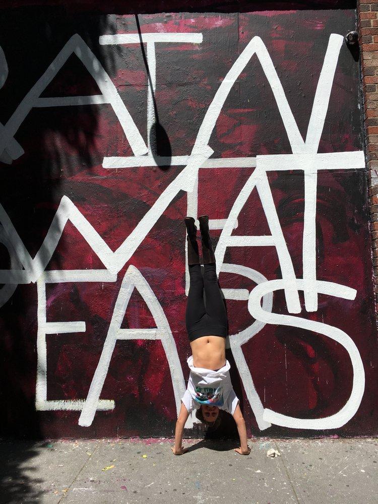 Handstand Work Your Abs Strengthen Your Hip Flexors Hamstrings
