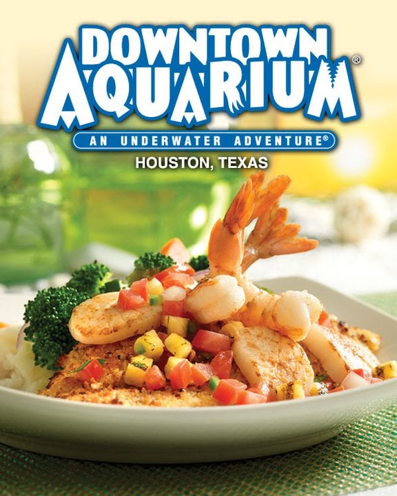 Downtown Aquarium: 410 Bagby St, Houston, TX