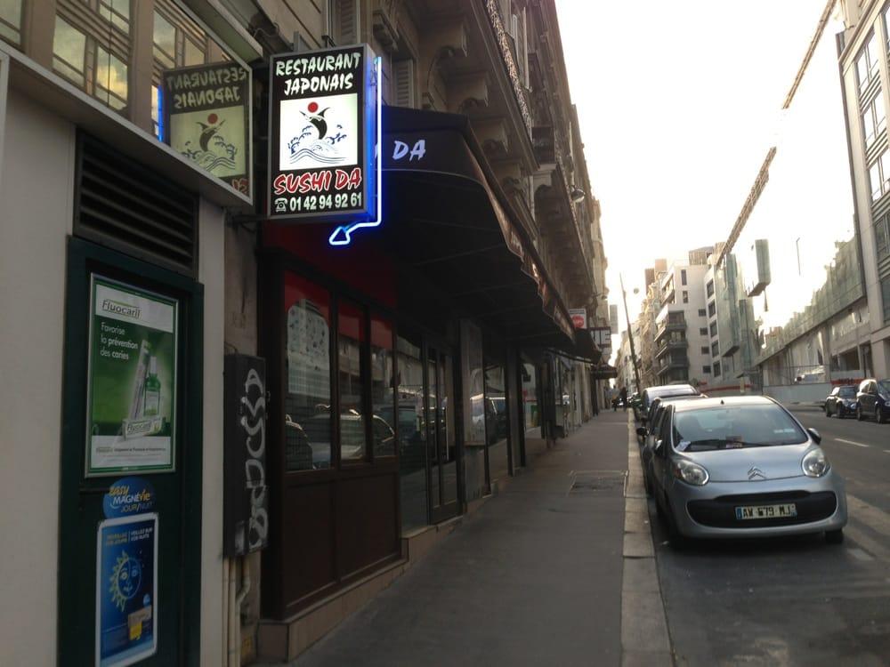 Sushi da japonais 29 rue du rocher saint lazare grands magasins paris - Magasin japonnais paris ...