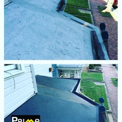 Photo Of Prime Roofing   Richmond, VA, United States. EPDM Rubber Membrane  Being