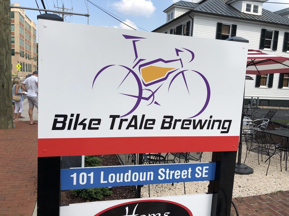 Bike TrAle Brewing: 101 Loudoun St SE, Leesburg, VA