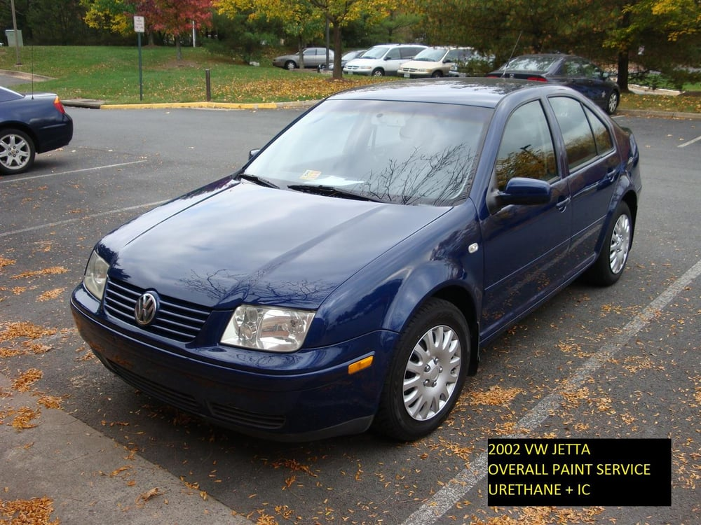2002 vw jetta full car paint job urethane ic yelp