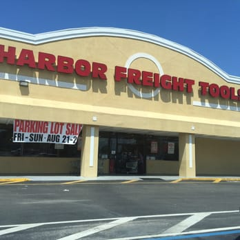 Harbor freight tools hardware stores 6435 us highway - Parking port nice ...