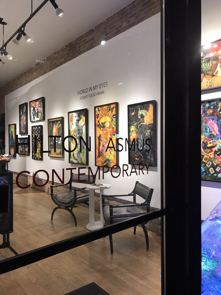 Hilton-Asmus Contemporary Gallery: 716 N Wells St, Chicago, IL
