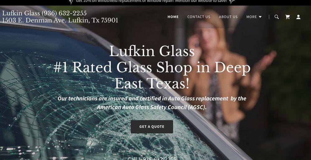 Lufkin Glass: 1503 E Denman Ave, Lufkin, TX