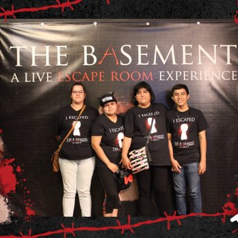 The basement a live escape room experience 152 photos 503 reviews escape games 12909 for The basement a live escape room experience events