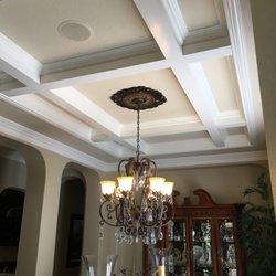 Photo Of Hahnco Interior Moulding   Santa Clarita, CA, United States.  Coffered Ceiling