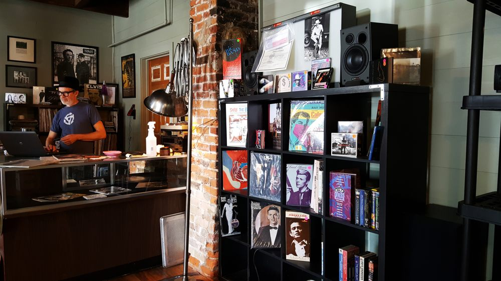 Astro Record Store: 705 Pine St, Bastrop, TX