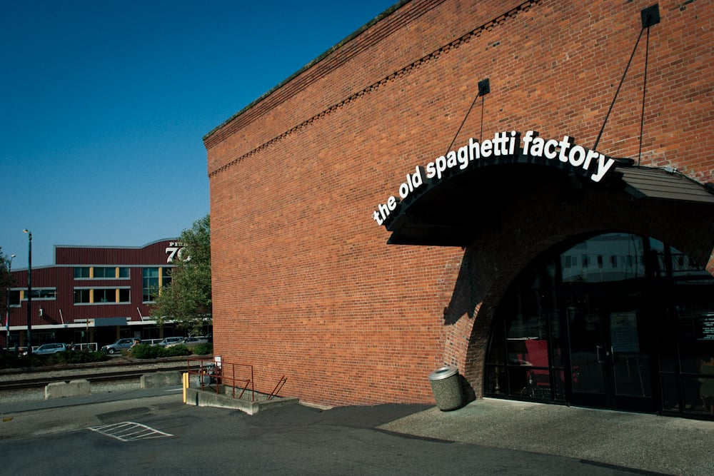 The Old Spaghetti Factory, at Elliott Avenue, has been in operation for 45 years. Developers have purchase the property and plan to develop it.
