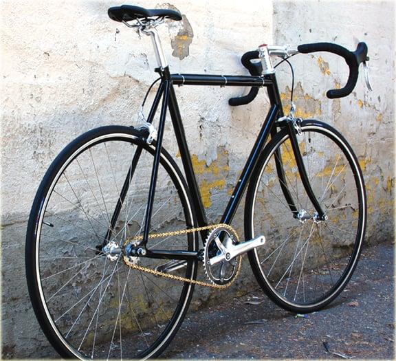 Wabi Classic Fixed Gear Bike In Jet Black Yelp