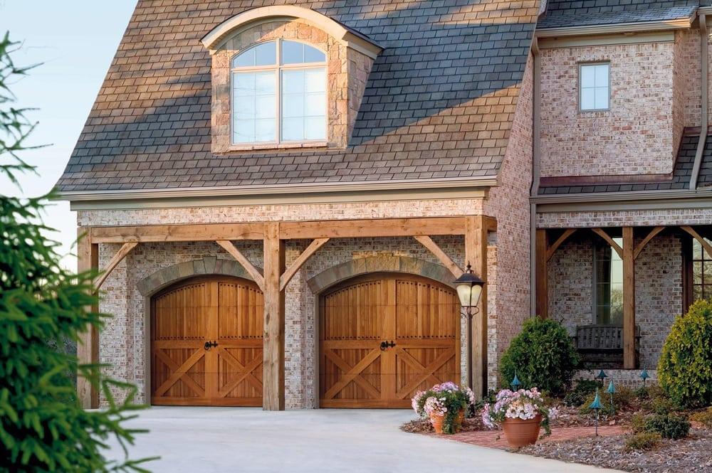 All four seasons garage doors 48 reviews garage door for Garage door patterns