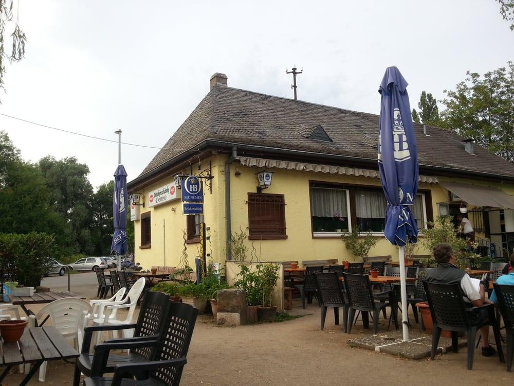 Zur Brückenschänke - GESCHLOSSEN - Biergarten - Auweg 2, Eltville ...