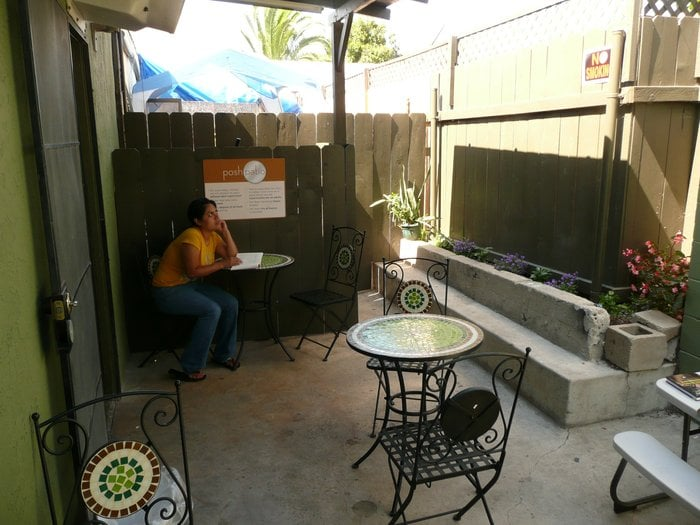 Photo Of Posh Wash Laundry   San Diego, CA, United States. Relaxing Outdoor