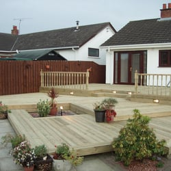 Photo Of Decking Design And Landscape Gardens   Glasgow, United Kingdom.  Www.deckingdesign
