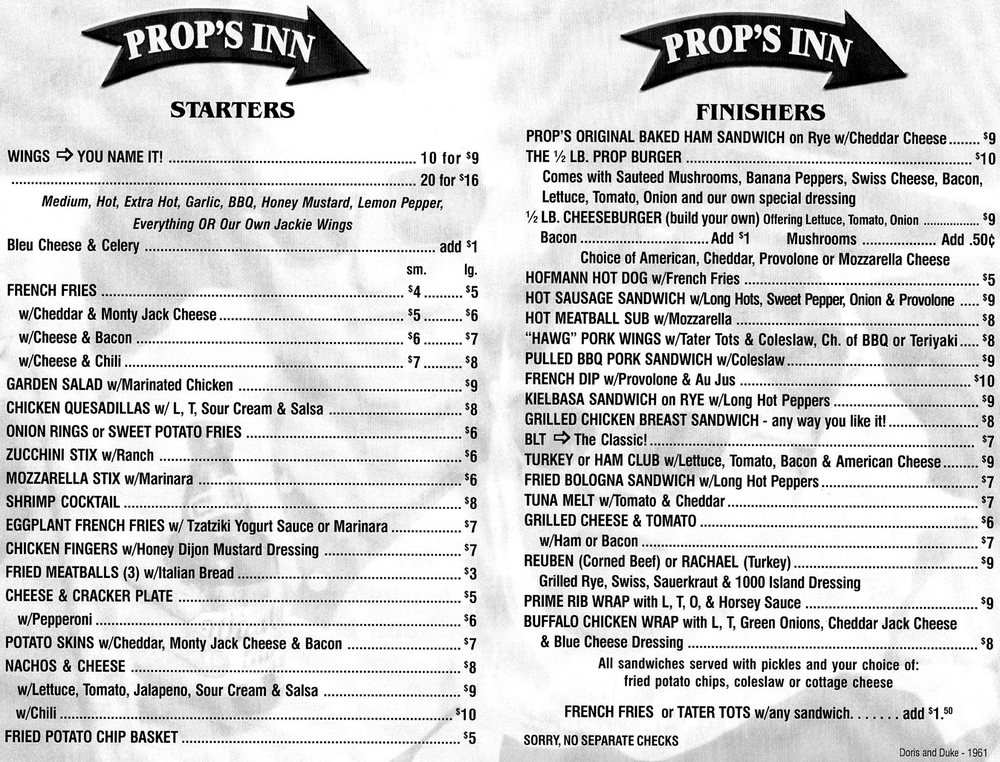 Social Spots from Prop's Inn