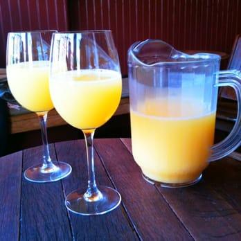 Bottomless mimosas san francisco