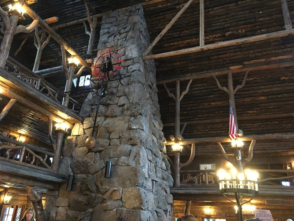 Photo Of Old Faithful Inn Dining Room   Yellowstone National Park, WY,  United States