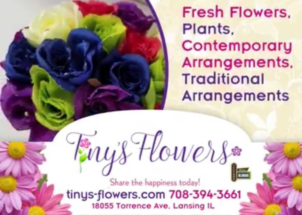 Tiny's Flowers: 18055 Torrence Ave, Lansing, IL