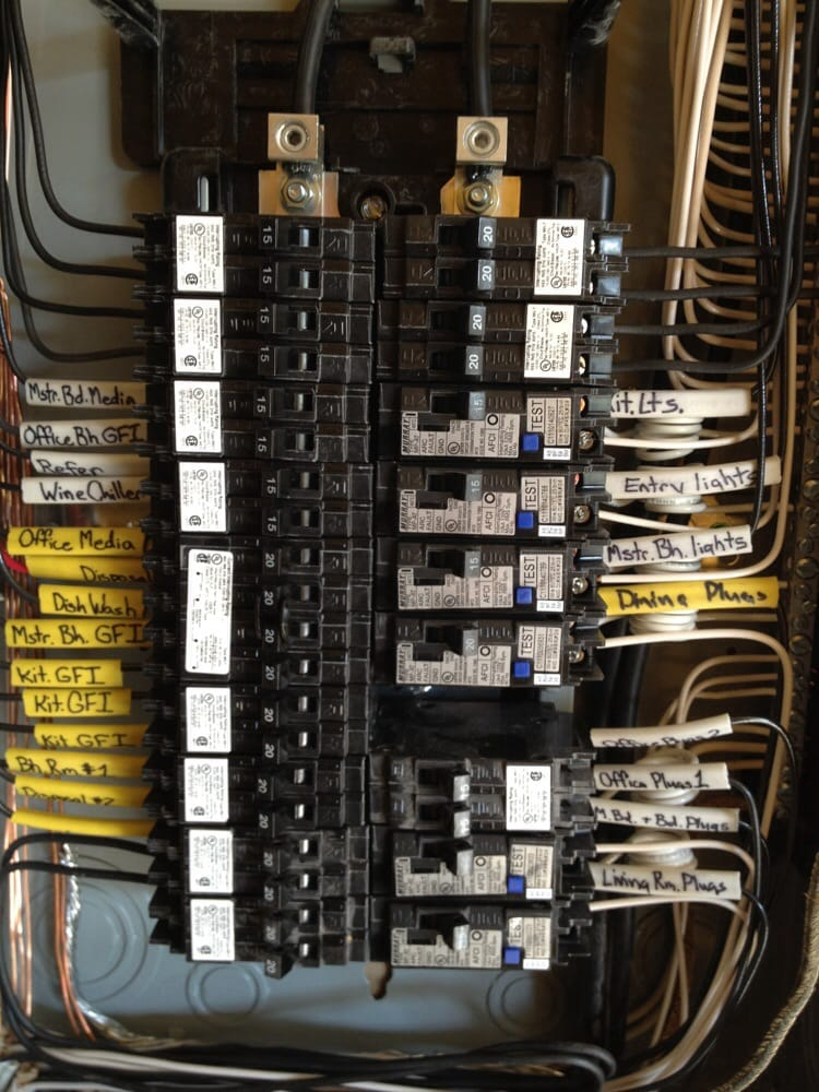 Main meter and sub panels installed professionally. - Yelp