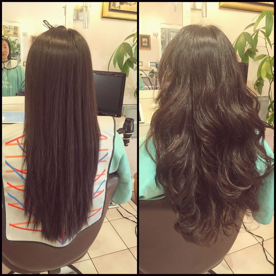 Sample Pictures Of The Customer Who Had Digital Perm At Momo Hair Salon In Toronto