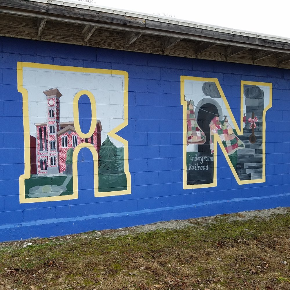 Town of Vernon, IN Mural: 240 N State St, North Vernon, IN