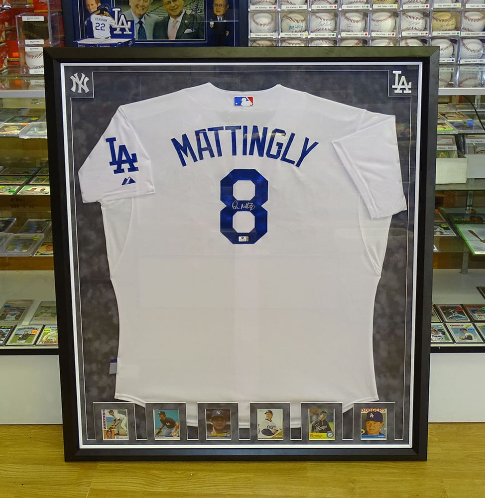 Custom Jersey Framing at Valley Sports Cards, Memorabilia & Picture ...