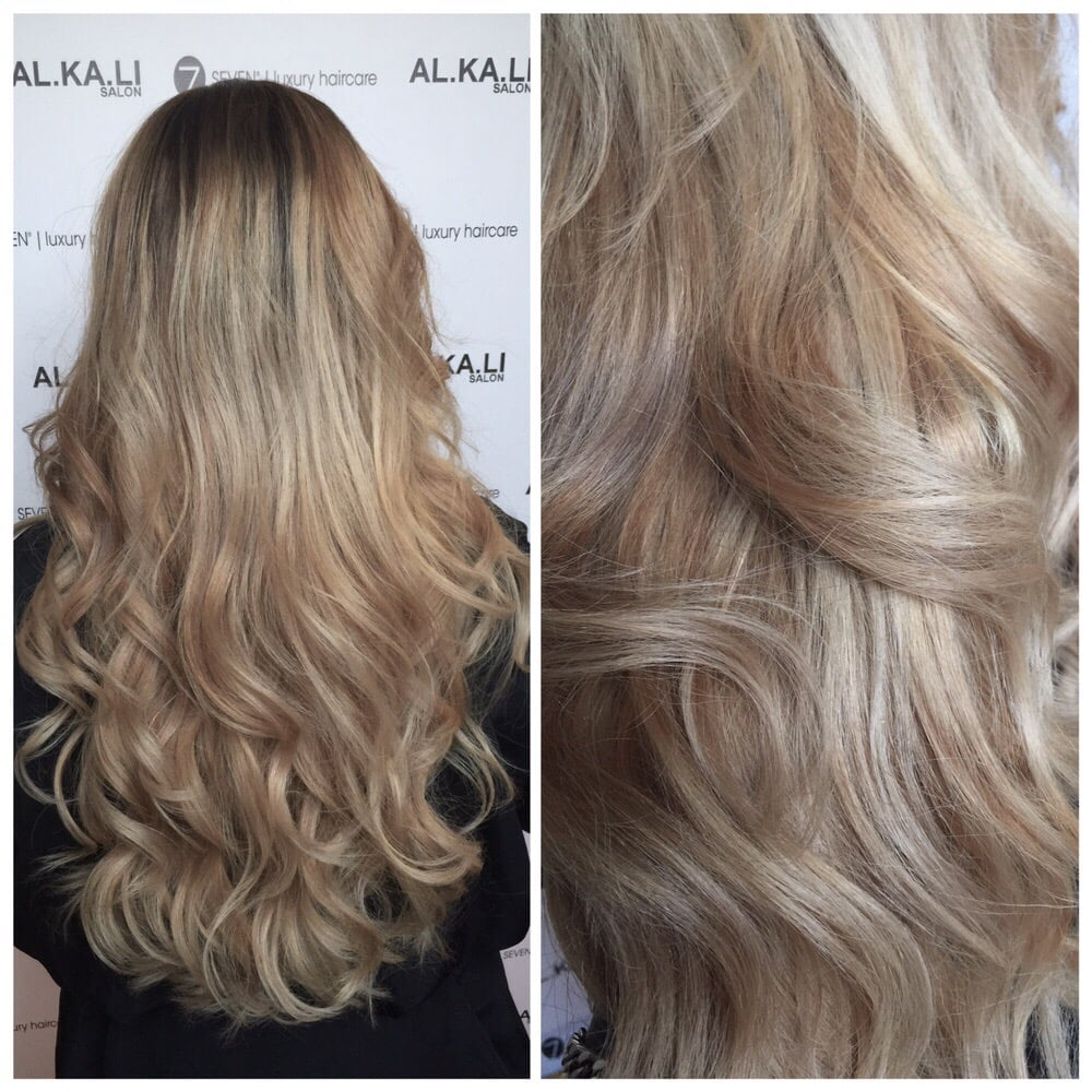 Photo of Alkali Salon , Santa Ana, CA, United States. Beige blonde,