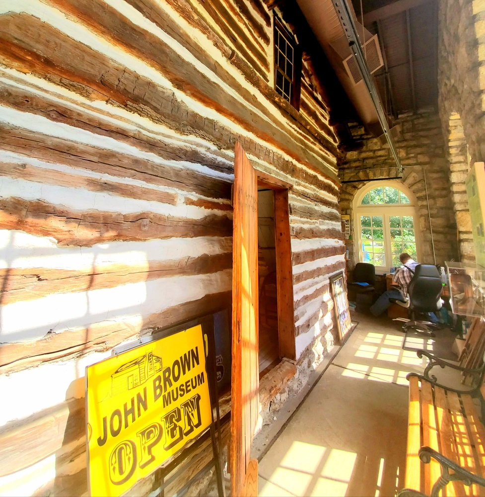 John Brown Museum State Historic Site: 10th and Main St, Osawatomie, KS