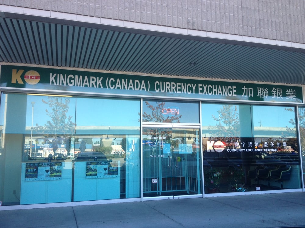 Calforex currency exchange - richmond bc