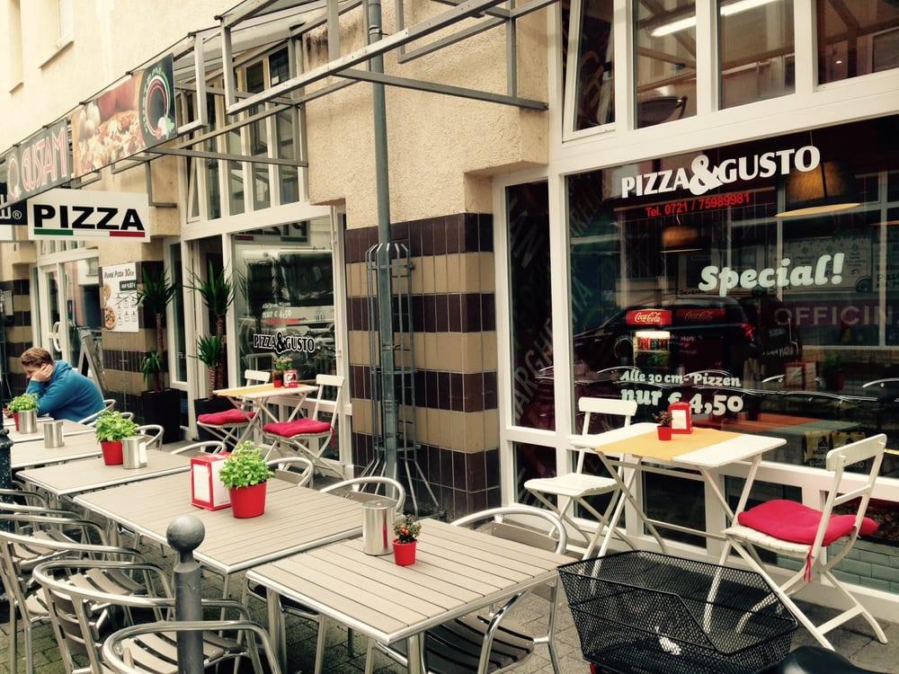 pizza gusto pizzer a b rgerstr 7g karlsruhe baden w rttemberg alemania restaurante. Black Bedroom Furniture Sets. Home Design Ideas