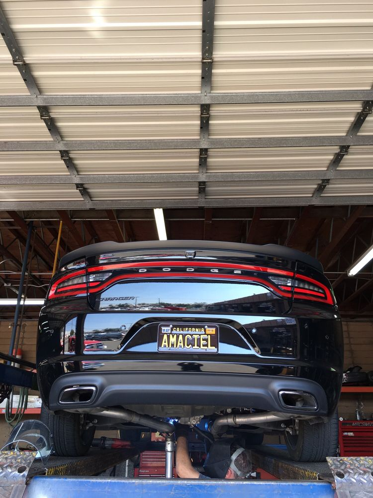 Muffler Delete Cost >> Flowmaster Super 10's with resonator delete. 2016 Dodge Charger SXT - Yelp
