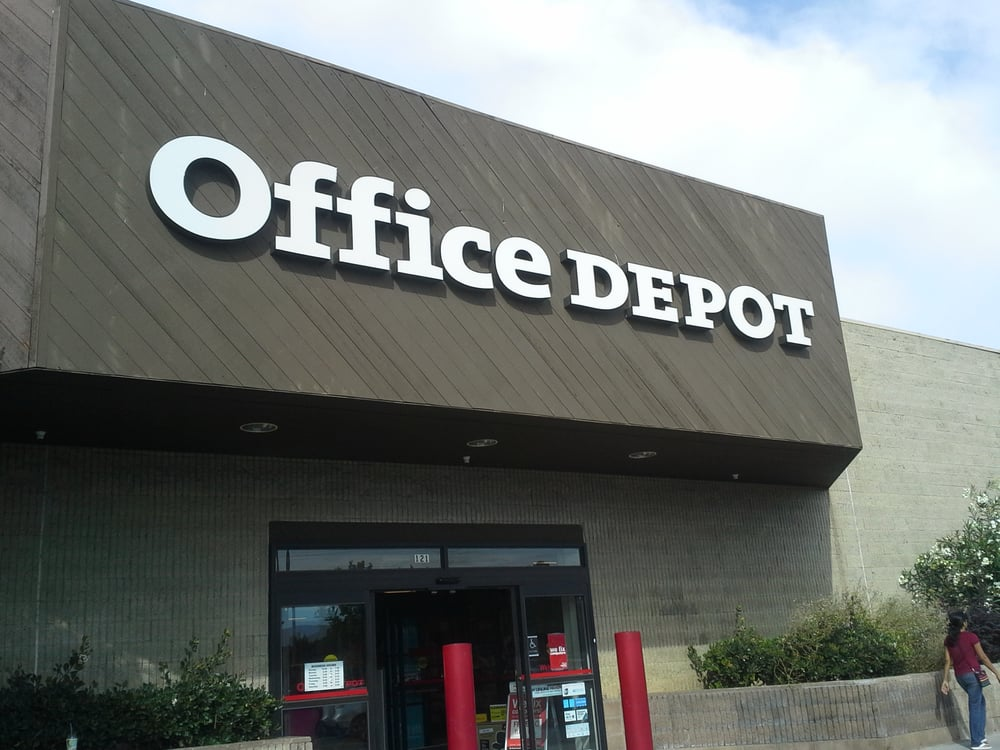 Office depot store front sunnyvale ca yelp - Office depot store near me ...